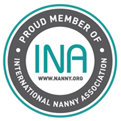 Badge for Jenna Jenkins, International Nanny Association Member